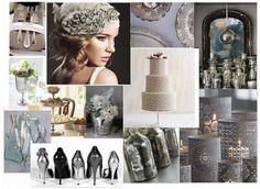 greige wedding inspiration