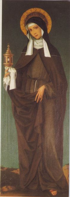 Santa Chiara d'Assisi (St. Clare of Assisi): Founder of the Poor Clares together with St. Francis of Assisi, the original female order of the Franciscans.