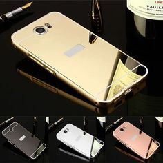 new styles 99e40 efbfd Luxury Metal Aluminum Frame + Mirror Acrylic Back Cover Case For Huawei Y5  ii Cases Huawei Honor 5A LYO L21 Coque Capa Etui p30-in Fitted Cases from  ...