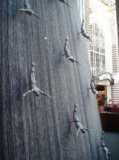 Waterfall, Dubai Mall - part of 8 cool things to do in Dubai