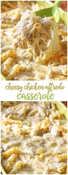 We LOVE Chicken Alfredo and knew a casserole version would be just as good. Of course, everyone loved it, and with lots of cheese, chicken and delicious sp