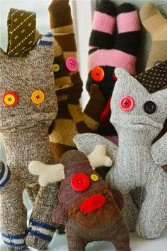 Sock animals More