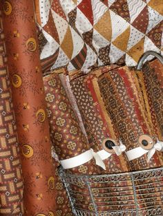 Jo Morton's line Cinnamon and Spice from Andover Fabrics - Temecula Quilt Co