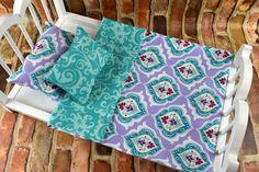 "American Girl Doll Bedding | Doll Bedding Set | 18"" Doll Bedding Blanket Pillows | American Girl Bedding | 18 inch Doll Bedding by 2KrazyLadiesCrafts on Etsy"