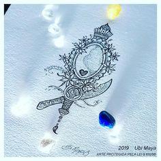 Mirror Tattoos, Body Art Tattoos, Tatoos, Orisha, Tatting, Piercing, Manicure, Drawings, Tattoo Ideas