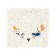 Embroidered snood
