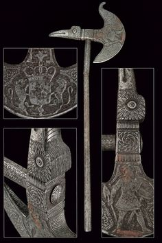 A chiselled axe,Europe, 19th century.