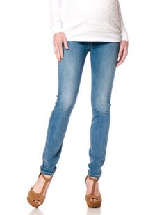 7 For All Mankind Secret Fit Belly(r) 5 Pocket Skinny Leg Maternity Jeans