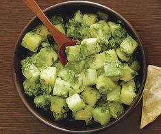 Cilantro-Lime Guacamole | Recipe | Guacamole, Guacamole Recipe and ...