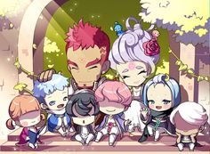 A Collection of Official MapleStory Artwork : Photo