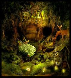 """Fall Fairy Garden backgrounds 