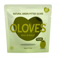 Olive snack packs get colorful redesign in easy-open pouch | via Packaging World #easyopen #packaging