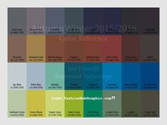 trend colors 2015-2016 | AutumnWinter 2015/2016 trend forecasting + daily quote