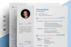 Clean, Elegant & Detailed -- Stand out and get hired! Just 1 resume from the best selling Complete Resume Collection: Created by the best to empower the best! This carefully crafted 2 page cv template lays emphasis on the sections that matter the most to prospective employers. This template is perfect for those who wish to display detailed work