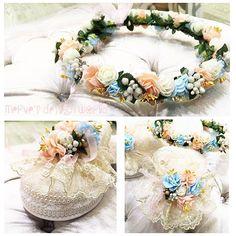 Lohusa Terlik ve Taç Detayları  İstenilen Renk Çalışılır #lohusaterliği #lohusataçı #taç #terlik#taç #çicektaç #buket #gelintaç #gelinbuket #bayramhediyesi#hediyelik #hediye #dağıtmalık #ikram #ayna #nişan #söz #düğün #nikah #sünnet #mevlüt #kına #doğumgünü #tasarım #design Flower Crown, Kids And Parenting, Floral Wreath, Wreaths, Embroidery, Flowers, Baby, Crafts, Wedding