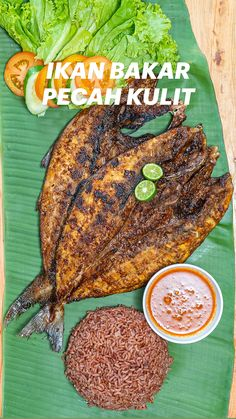 Food Crafts, Diy Food, Becoming A Chef, Asian Recipes, Ethnic Recipes, How To Cook Fish, Food Decoration, Barbecue Recipes, Indonesian Food