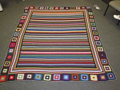 Ravelry: Project Gallery for Granny Stripes pattern by Lucy of Attic24