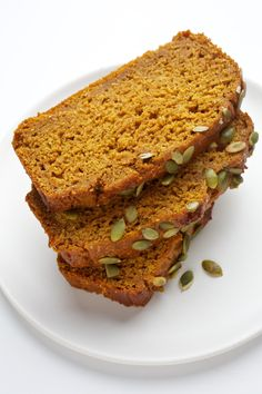 Olive Oil Pumpkin Bread from my Nourish column in the @washingtonpost