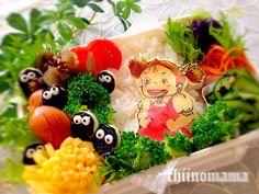It's Mei from Totoro!  Mei bento