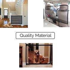 (This is an affiliate pin) ME Superb Gate for Dog and Pets | Mesh Screen Indoor Net Dog Gate | Portable Folding Mesh Safety Enclosure Fence Guard Dog Safe Guard Install Indoor Outdoor Anywhere (Medium and Large) (70X30 in) #DogFence Online Pet Supplies, Dog Supplies, Metal Baby Gate, Child Safety Gates, Dog Training Bells, Safety Cover, Pet Dogs, Pets, Pet Gate
