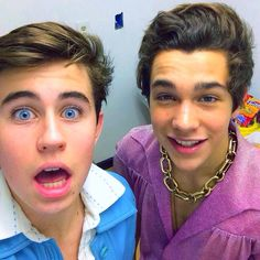 Nash Grier and Austin Mahone <3