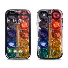 Samsung Galaxy S3 Phone Case Cover Decal - Watercolor Set. $9.95, via Etsy. Love to have this case too