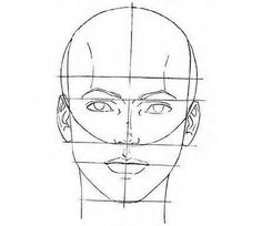 Anatomy Drawing Tutorial how to draw a human face - online-drawinglessons Pencil Art Drawings, Art Drawings Sketches, Easy Drawings, Horse Drawings, Animal Drawings, Drawing Lessons, Drawing Techniques, Drawing Tips, Drawing Tutorials