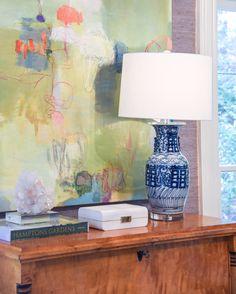 Blue print blog art interior design home design blog fairmount art by stephanie shank blue and white lamps blue print blueprintstore malvernweather Gallery