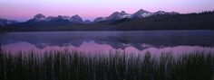 """Sawtooth Dawn"" Little Redfish Lake, Idaho [ Jeffrey Murray Photography"