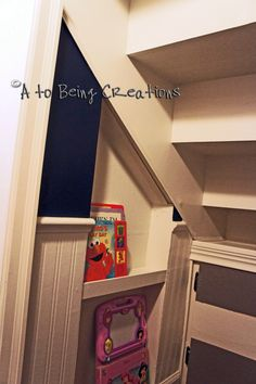From A to Being: Under the Stairs BIG Reveal!!!!! The Playhouse fit for Royalty!
