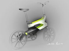 Peugeot Concept Bike DL122 - Design Sketch