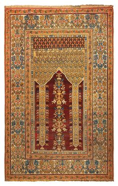 A Koula rug West Anatolia second half 19th century cm 183x125.Sides not originally. from cambi casa d'este