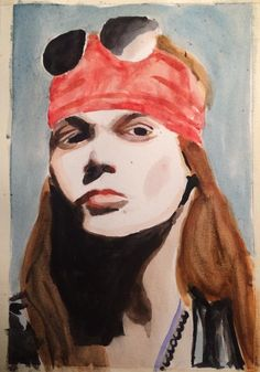 Axl Watercolors.
