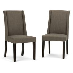 Sotherby Faux Leather Deluxe Dining Chair (Set of 2)