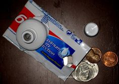 Experiment MOM: Upcycled Challenge: Toothpaste tube to coin purse #freefromtrash