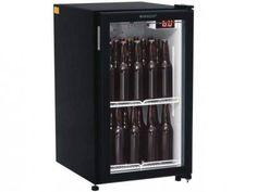 Cervejeira/Expositor Vertical 1 Porta 112L - Frost Free Gelopar GRBA-120PVP com as melhores condições você encontra no Magazine Tiozao007. Confira!