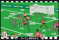 Valladolid, 1 - Athletic, 1 - Ebert