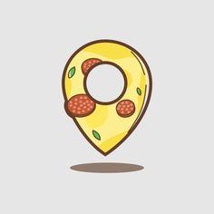 Pizza logo #pizza #logo #logodesign #design #