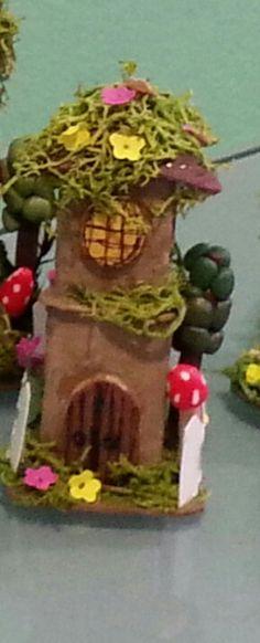 Casita del bosque por Inés Moreno miniaturines