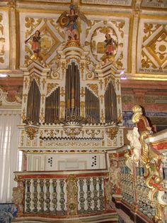 Órgão do Santuário de Porto de Ave, Póvoa de Lanhoso, Braga, Portugal