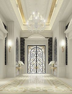 Luxury Interior design for an entrance lobby - by IONS DESIGN www.ionsdesign.com