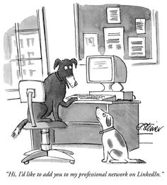 'NOBODY KNOWS YOU'RE A DOG': As iconic Internet cartoon turns creator Peter Steiner knows the joke rings as relevant as ever - Comic Riffs - The Washington Post New Yorker Cartoons, Cartoon Posters, Cartoon Dog, Dog Cartoons, Safety Cartoon, Cartoons 2016, Memes, Mini Canvas Art, Doberman Pinscher