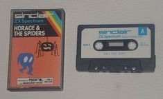 Sinclair ZX Spectrum: Horace & The Spiders  Horace goes creepy! Maybe the hardest one but it felt so great when you smashed those pesky spiders!  Tags:  #retrogaming #retrogames #sinclairzxspectrum #spectrum #zxspectrum #horace #horaceandthespiders