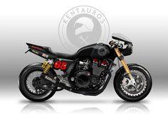"Yamaha XJR1300 design ""XJRocket"" by Kentauros #motorcycles #caferacer #motos | caferacerpasion.com"