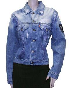 Plus Womens Jacket Coat Light Blue Cotton, L, Blue Plus. $64.99. Save 78%!
