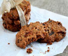 Disse sprøde mandelcookies med chokolade og nødder får englene til at synge