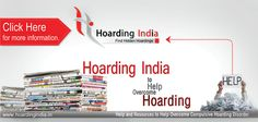 Advertisement agency in Delhi subsequent a austere advertising strategy successfully survived the adverse time and tasted sensation along with their clients although of the fact that the limited resources. http://hoardingindia.in/
