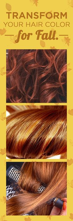 "How to get a custom-blended hair color for fall, whatever your signature shade: ""It's like a pumpkin spice latte, but for your hair."" Coloring your hair at home as never been so easy! Once you complete the survey, our Colorists will create the perfect color for you and ship straight to your door."