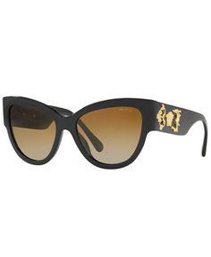 861e3577c3f3 Preowned 90s Gianni Versace Black Sunglasses W. Gold Medusa ( 758 ...