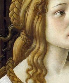Venus and Mars (detail), Sandro Botticelli, c. 1483, tempera on panel